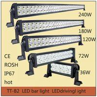 Wholesale LED bar light for ATV or Boat Light LED tractor offroad light LED driving light W W