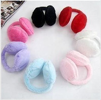 Wholesale 2012 New colorful Earmuffs Earwarmers Ear Muffs Earlap Warm Headband Winter