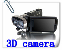 Wholesale New Fashion D Hd p MP Dual CMOS Black Digital Video Camera D Camera