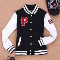 baseball jackets - 2014 Women Men Unisex Spring Autumn Fashion Patchwork Baseball Jacket Print Hoodies Cardigan Sweatshirts