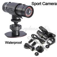 Wholesale Full HD P DV Mini Waterproof Sports Action Camera Bike Helmet Bracket Car Holder DVR Digital Video Degree