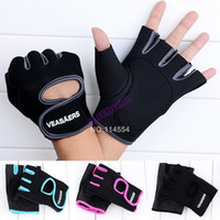 Wholesale High Quality New Cycling Fitness Sport Gloves GYM Half Finger Weightlifting Gloves Exercise Training