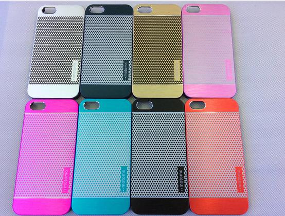 Buy Polka Dot MOTOMO Brushed Hybrid Metal + PC Hard Back Case iPhone 4 4S 5 5S iPhone6 Samsung Galaxy S3 S4 S5 Note 2 3 LG G3 10
