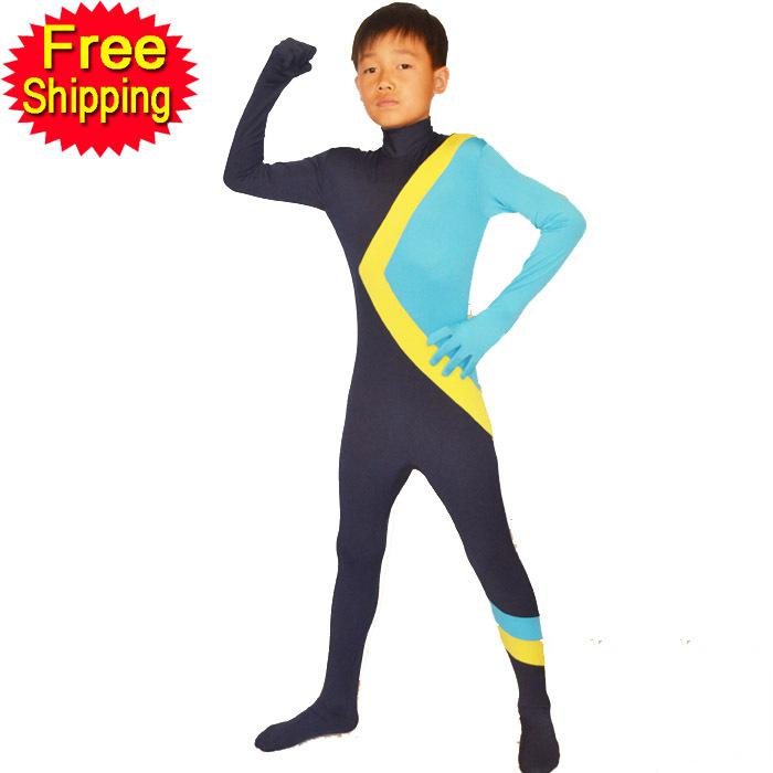 Jamaican Halloween Costume cool runnings jamaican bobsled team skin costume halloween party gift size s xxl Mascot Halloween Costumes For Kids Cool Runnings Jamaican Bobsled Team Spandex Lycra Children Yellow Blue Bodysuit