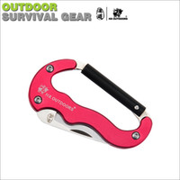 Wholesale Han Tao multifunction outdoor hanging hook buckle safety clasp keychain bottle hanging buckle climbing fast kaihuang