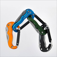 Wholesale Han Tao outdoor rock climbing fast hang buckle carabiner key chain hanging buckle safety clasp mountaineering outdoor kettle kaihuang