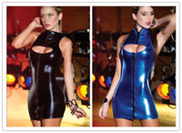 Cheap mascot PVC Lingerie Latex Women Leather Spandex s Stripper Pole Dance Clothes