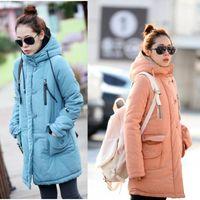 Women Regular Single Breasted Free Shipping Women's Down Coat Lady Jacket Hood Winter Clothes Black Best