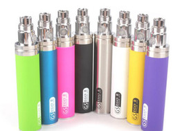 GS Ego II battery 2200mah Kgo Ego 2 e cigarette battery colouful thick ego battery VS ego Vision EVOD ego twist battery