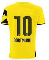 14- 15 Season Customized Thailand Quality Borussia Dortmund #...