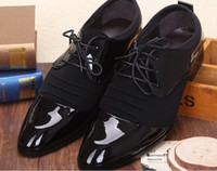 Cheap Man fashion designer Shoes men's leather Business oxfords office pointed dress shoes
