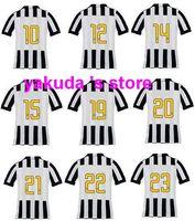 2014- 15 Season Thai Quality Juventus Home Soccer Jerseys, #21...
