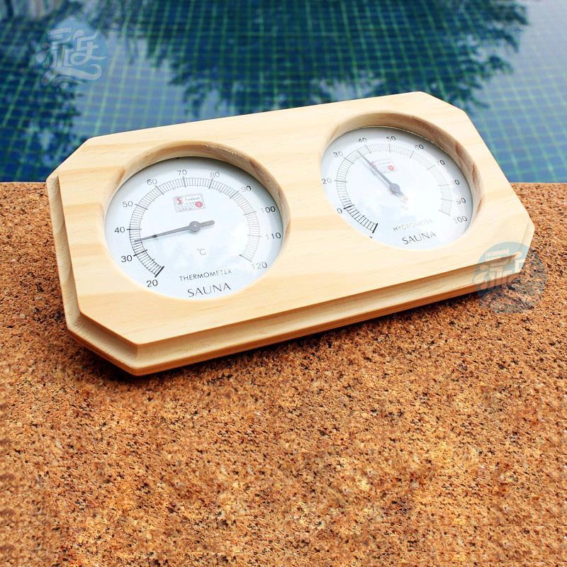 wood panel sauna room hygrometer thermometer kitchen thermometer cooking thermometer food. Black Bedroom Furniture Sets. Home Design Ideas