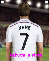 Soccer club - 2014 Club Team Customized Thai Quality Soccer Jerseys Create your soccer jersey with your Name and number Personalise soccer jerseys