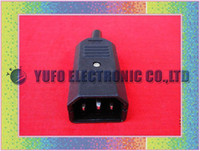 Wholesale One IEC AC Power Cable Standard Cord Plug Connector Male
