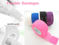 Wholesale OP Freeshipping Finger File Bandage Strip Protection Flex Wrap Color Rolls Manicure Tool Accessory UNL70