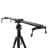 Wholesale New Professional Portable Commlite cm quot Sliding pad Video Camera Track Slider Dolly Stabilizer System for DSLR Camcorders D1260