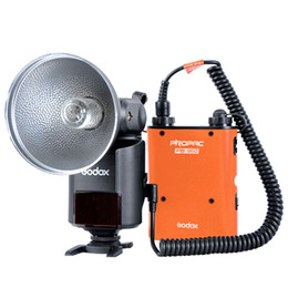 Wholesale GODOX Witstro AD W GN80 External Portable Flash Speedlite Light PB960 Lithium Battery Pack Kit for Canon Nikon Camera D1333