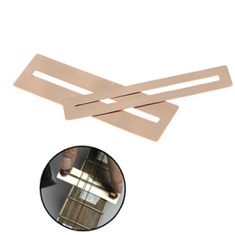 Wholesale 2pcs set Bendable Stainless Steel Fretboard Fret Protector Fingerboard Guard for Guitar Bass Luthier Tool Price I319