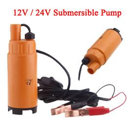 Wholesale 12V V DC MINI Diesel Fuel Water Oil Diesel Fuel Transfer Pump Submersible Transfer Pump On Off Switch Car Van Plastic K1201