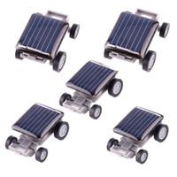 Nero bella solare Toy Car educativi del dispositivo del regalo dei bambini Mini Solar Toy Car For Kids straordinaria potenza H1759