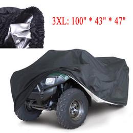 Universal Quad Bike ATV Cover Parts Motorcycle Vehicle Car Covers Dustproof Waterproof Resistant Dustproof Anti-UV Size 3XL/XXL/L K1339