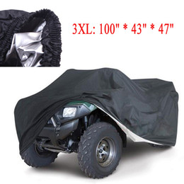 Wholesale Universal Quad Bike ATV Cover Parts Motorcycle Vehicle Car Covers Dustproof Waterproof Resistant Dustproof Anti UV Size XL XXL L K1339