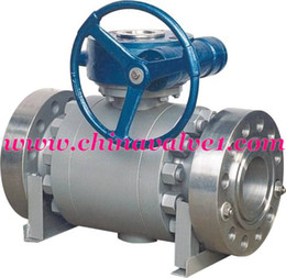 Wholesale Forged Cast steel trunnion mounted ball valve