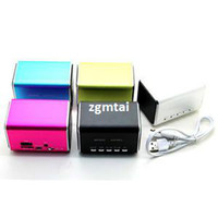 Wholesale PC USB Music Angel Player For PC MP3 Wt Micro SD TF Good Quality Mini Speaker E801