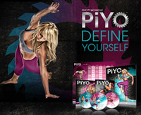 Wholesale Pre order fitness dvd PIYO workout dvd movies for overseas DHL
