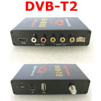 Cheap Free Shipping NEW DVB-T2 Receiver Digital TV Box russia thailand dvb-t2 For Car TV Tuners