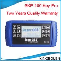 Wholesale SuperOBD SKP Hand Held OBD2 Key Programmer SKP100 Car key maker for land rover jaguar ford dodge jeep mazda chrysler etc DHL Free