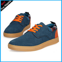 Wholesale Mens Size Black Swede Leather Sneakers Shoes Men s Casual Shoes