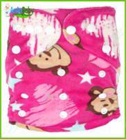 Wholesale New Design Minky Printed Cloth Diapers With Inserts Breathable Jctrade Baby Cloth Diapers