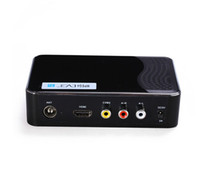 Cheap LJP814-3 CVBS Audio MPEG Compliant USB H.264 PVR IR Digital Terrestrial Receiver HDMI Mini HD 1080P Video Broadcasting DVB-T2 Tuner