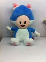 New Super Mario Brothers Plush Figure- 8' ' Blue To...