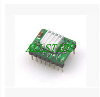 Cheap Free Shipping Brand New 5PCS 3D Printer A4988 Stepper Motor Driver Reprap + 5pcs Self-adhensive Heatsink F-0118