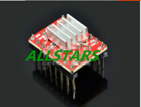 Wholesale Brand New D Printer A4988 Stepper Motor Driver Reprap Self adhensive Heatsink F