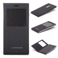 TPU+ PU Leather Case Cover For Leagoo Lead 1 Smart Cell Phon...