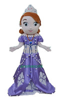 Cheap 100% real pictures Princess Sofia Mascot Costume Cartoon Costumes Party Dress