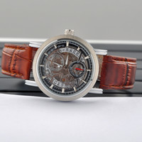 Wholesale High end Design MCE Men steampunk Watches automatic mechanical watch Men Leather Strap Watches