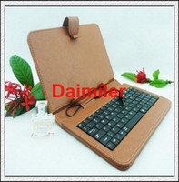 best keyboard covers - Best quality inch Tablet PC keyboard leather case USB Keyboard Leather Cover for quot Galaxy Tab