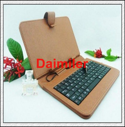Wholesale Best quality inch Tablet PC keyboard leather case USB Keyboard Leather Cover for quot Galaxy Tab
