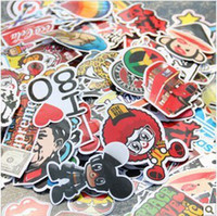 Wholesale Car body film sticker doodle decoration personalized motorcycle bicycle sticker car accessories applique