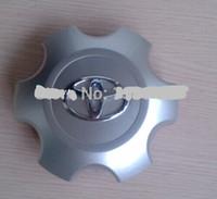 hub caps - 4pcs set Alloy Chrome MM Surface Diameter Wheel Hub Caps Covers For Toyota Prado Toyota Prado GRJ120