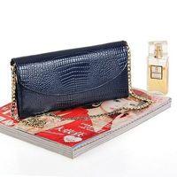 Wholesale 2013 crocodile pattern wallet bag day clutch wallet evening bag leather women s bag clutch bag CN102
