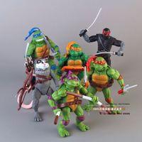 Wholesale 6Pcs Teenage Mutant Ninja Turtles Classic Collection TMNT Action Figures Toy Set
