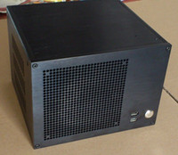 Wholesale Short version of the installed power ITX Computer Case ATX model BZ06 S aluminum HTPC chassis