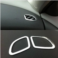 Wholesale Chevrolet Cruze accessories Stainless steel Ring Chrom trim carbon fiber outlet decoration car stickers