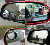 Wholesale 10 pairs Wide Angle Round Convex Car Vehicle Mirror Blind Spot Rear View Messaging